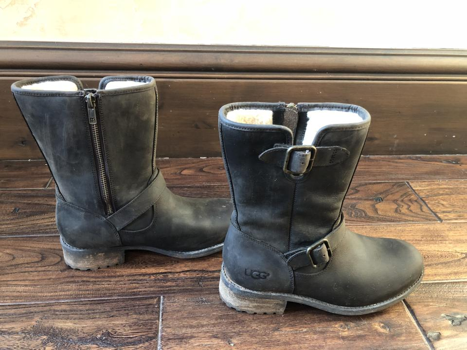 a688a143057 UGG Australia Brown Chaney Motorcycle Boots/Booties Size US 8 Regular (M,  B) 45% off retail