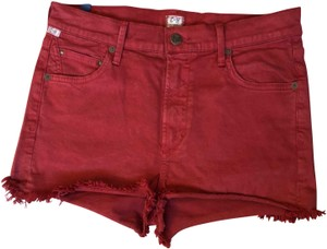 Citizens of Humanity Cut Off Shorts Red