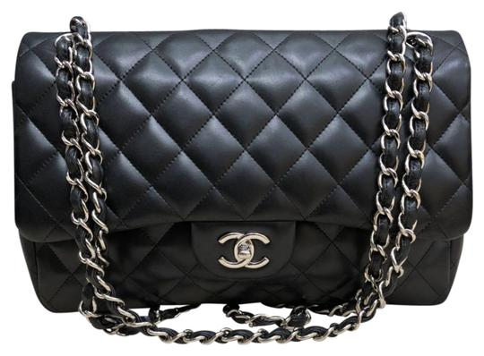 c5007830b69e Chanel Classic Jumbo Lambskin Leather Double Flap Bag | Stanford ...