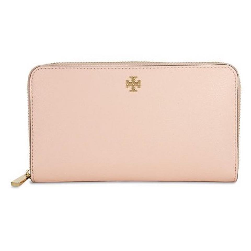 eb1050f848 Tory Burch Pale Apricot Robinson 1169071 Zip Continental Wallet ...