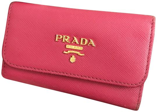 7c98320d491e Prada Peony Pink Wallet | Stanford Center for Opportunity Policy in ...