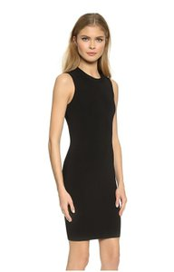 Alexander Wang Backless Viscose Sheath Dress