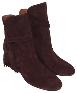 & Other Stories Burgundy Boots