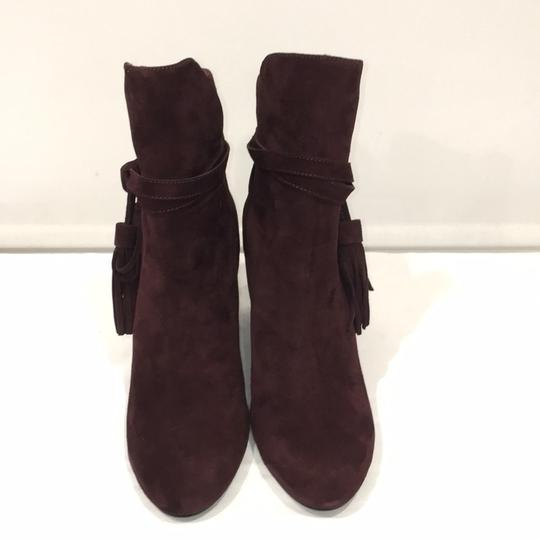 & Other Stories Burgundy Boots Image 1