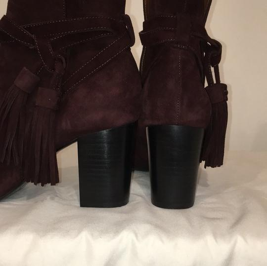 & Other Stories Burgundy Boots Image 11
