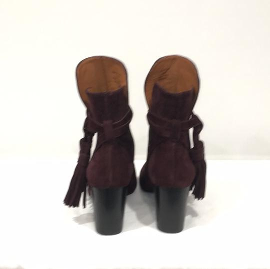 & Other Stories Burgundy Boots Image 3