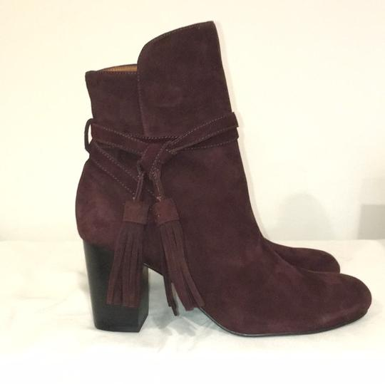 & Other Stories Burgundy Boots Image 6