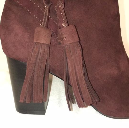 & Other Stories Burgundy Boots Image 7