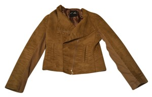 C. Luce Suede Taupe Jacket