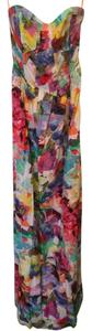 Multi color floral print Maxi Dress by Hive & Honey