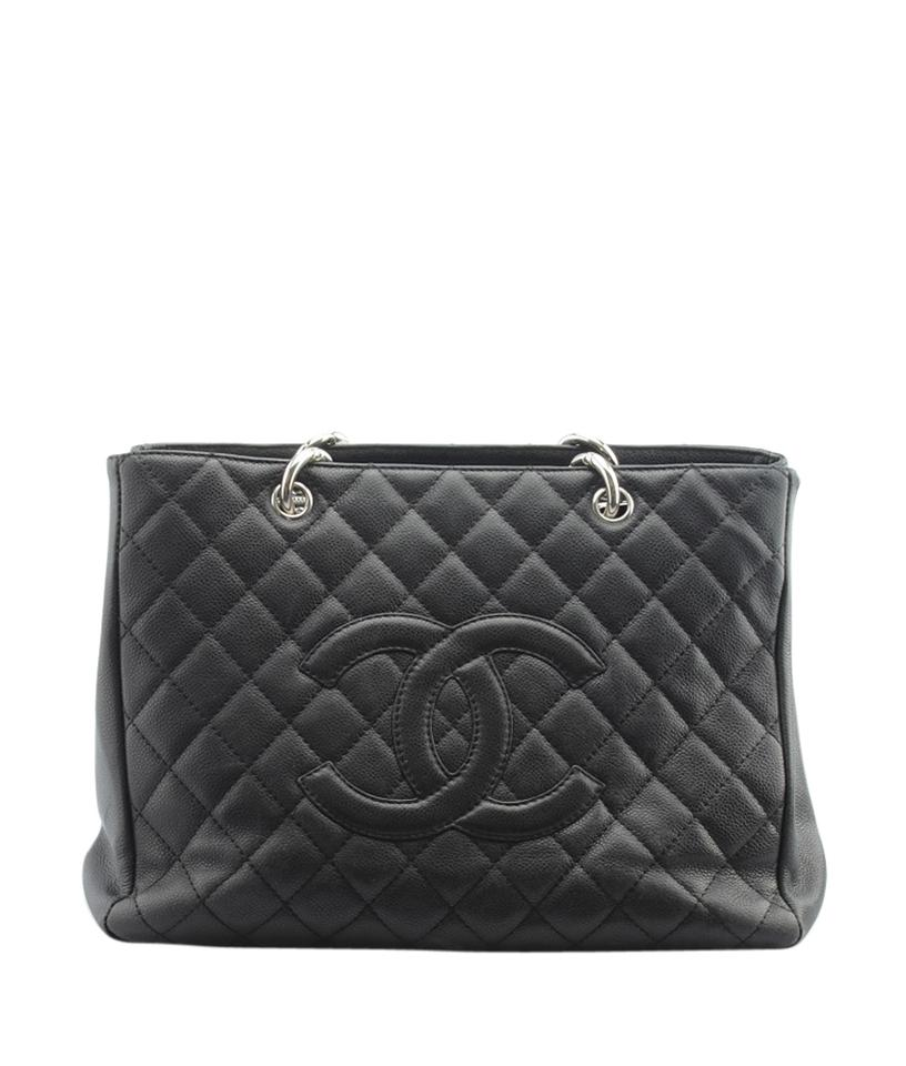 0a3d29eed617 Chanel Black Tote Bags - Up to 70% off at Tradesy