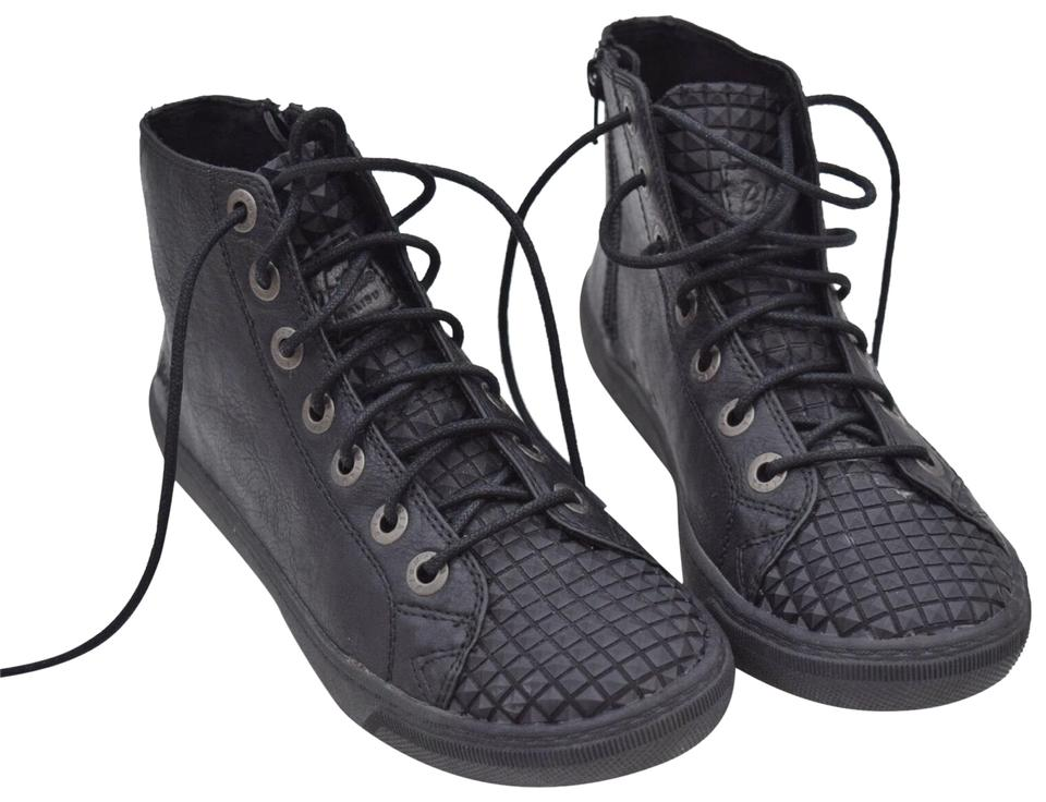 56a43abcbdd Blowfish Black High Top Sneakers Boots Booties Size US 7 Regular (M ...
