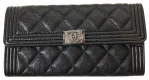 Chanel Chanel Boy Long Flap Wallet