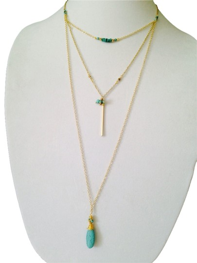 Preload https://img-static.tradesy.com/item/2303939/nakamol-bluegold-turquoise-3-strand-long-necklace-0-0-540-540.jpg