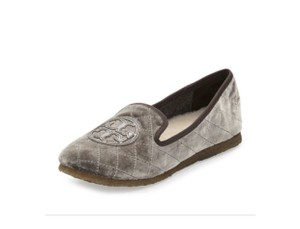 Tory Burch Slippers Gray Flats