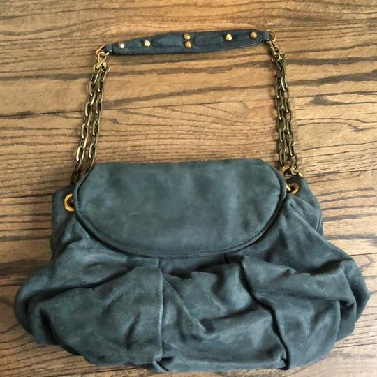 dfce670bf71 Isabella Fiore Navy Suede Leather Hobo Bag - Tradesy