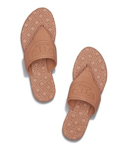 Tory Burch Thong Summer Slides Tan Sandals