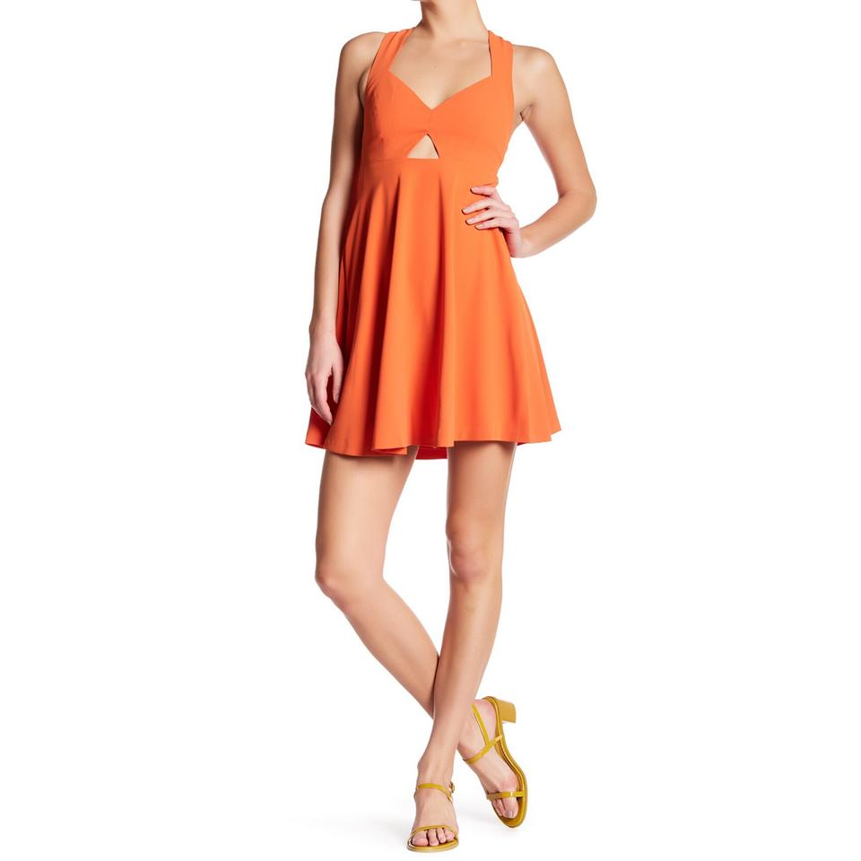 Orange alice olivia cocktail dresses up to 70 off a tradesy ombrellifo Images