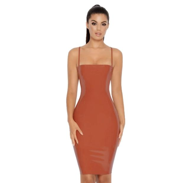 Item - Rust Mid-length Night Out Dress Size 2 (XS)