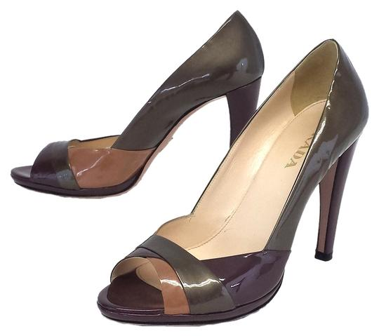 Preload https://item2.tradesy.com/images/prada-taupe-patent-leather-peep-pumps-size-us-85-2303996-0-0.jpg?width=440&height=440