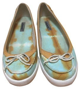 Sperry Blue/yellow-orange Flats