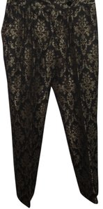 Etcetera Boot Cut Pants Brown/Gold