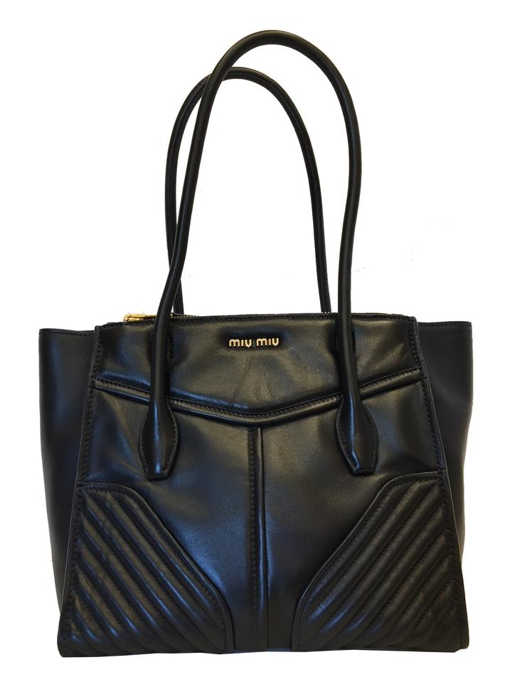 Miu Handbags Prada Satchel In Black