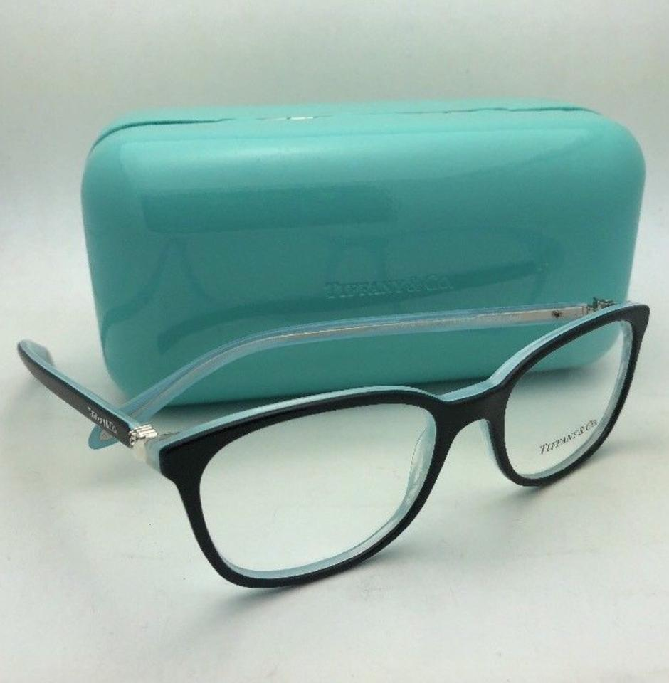 6a3e1d5fb290 Tiffany   Co. Tf 2109-h-b 8193 51-17 Black On Blue W  Crystals+pearls  W Pearls Sunglasses - Tradesy