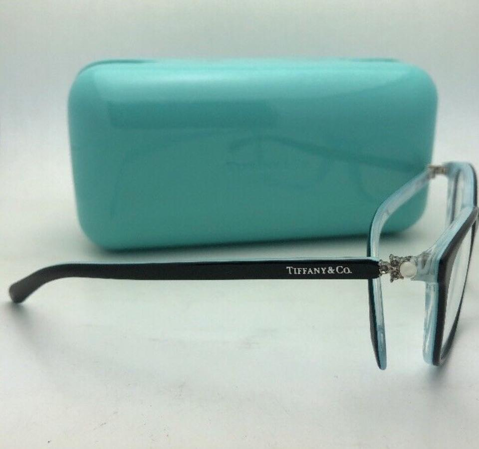 b042f92f623 Tiffany   Co. Tf 2109-h-b 8193 51-17 Black On Blue W  Crystals+ ...