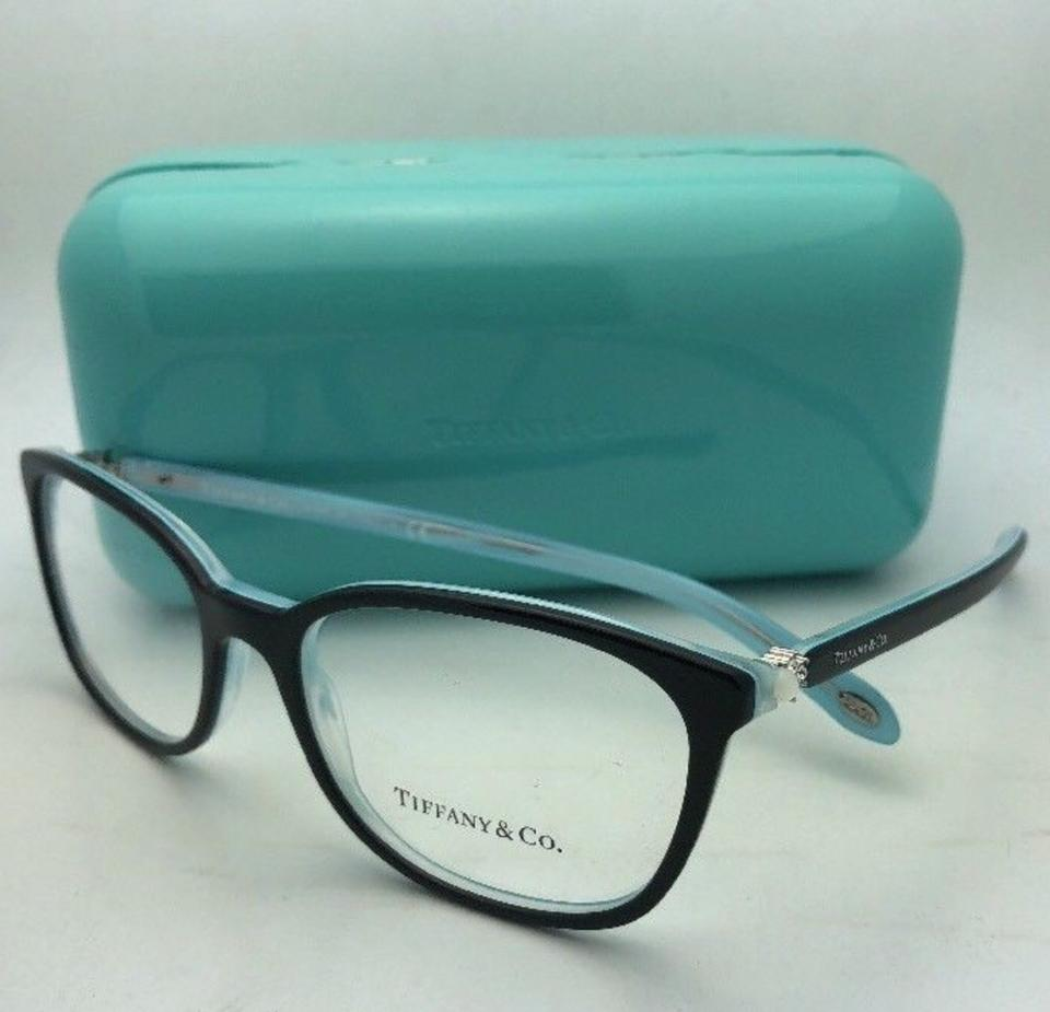 825fdce1bdb5 Tiffany   Co. Tf 2109-h-b 8193 53-17 Black On Blue W  Crystals+ ...