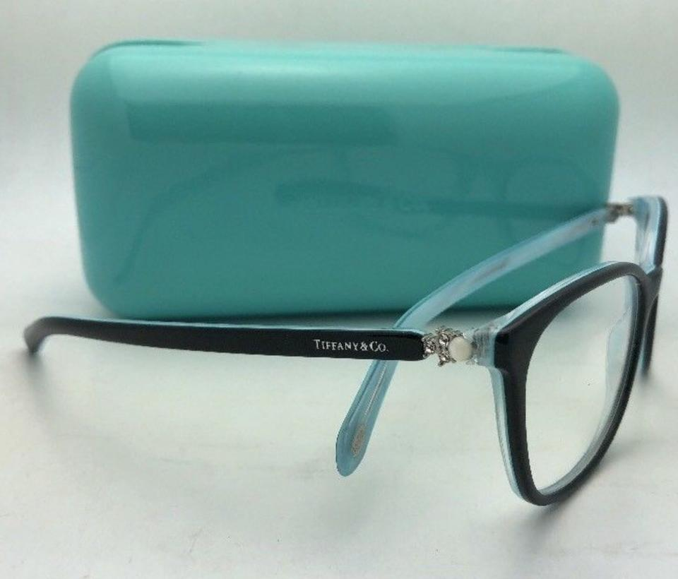 8a24c52d2944 Tiffany   Co. Tf 2109-h-b 8193 53-17 Black On Blue W  Crystals+pearls  W Pearls Sunglasses - Tradesy
