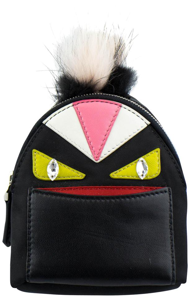 Fendi Monster Vinyl Leather Bag Bugs Backpack Charm Keychain Image 0 ... 25e2754376f61