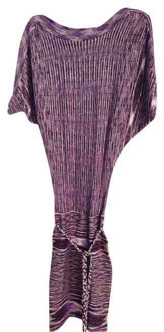 Preload https://item5.tradesy.com/images/guess-purplesilver-above-knee-cocktail-dress-size-0-xs-2304064-0-0.jpg?width=400&height=650