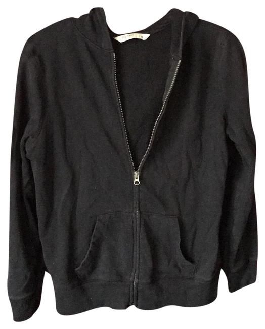 Old Navy Cotten Jacket Size M Pre Owned Black Sweater Old Navy Cotten Jacket Size M Pre Owned Black Sweater Image 1