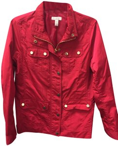 Charter Club Red Jacket