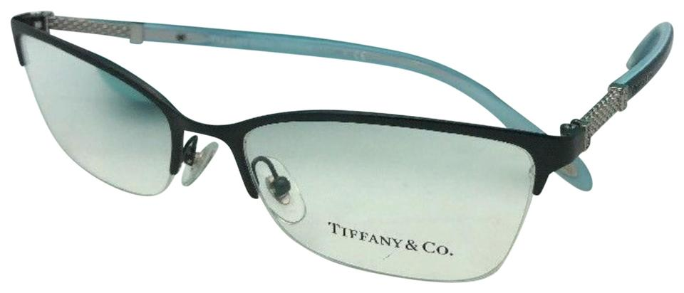 Tiffany   Co. Tf 1111-b 6097 53-17 140 Black Blue Frame W  Crystals  Sunglasses 4a979d1e25