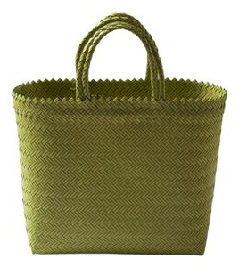 Beach Market Tote in Yellow and Green