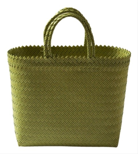 Other Handwoven Beach Market Tote in Yellow and Green