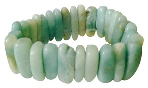 NWT Amazonite Stick Gemstone Stretch Bracelet