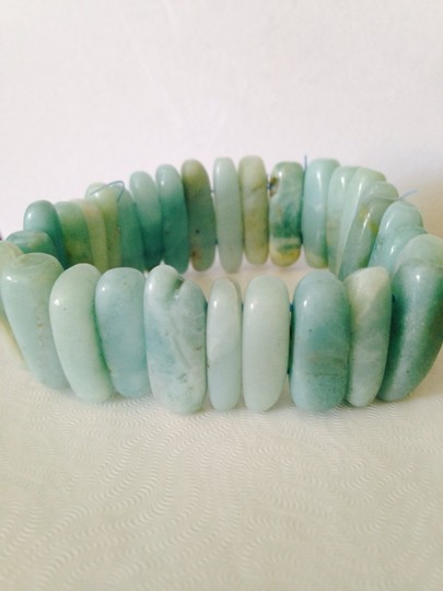 Other NWT Amazonite Stick Gemstone Stretch Bracelet
