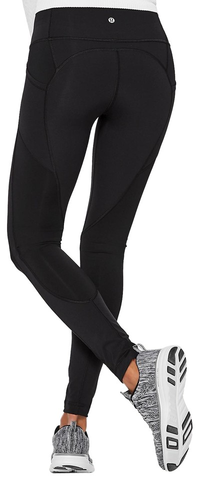 2415b6889 Lululemon Black All The Right Places Pant Activewear Bottoms Size 2 ...