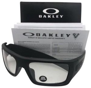 b81462fa4e Oakley OAKLEY INDUSTRIAL DET-CORD Safety glasses OO9253-07 Black w ANSI  Clear