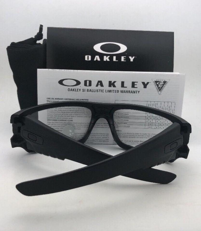 73e86a1ae0 Oakley OAKLEY INDUSTRIAL DET-CORD Safety glasses OO9253-07 Black w ANSI  Clear. 123456789101112