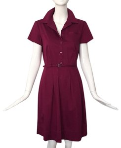 Banana Republic short dress plum on Tradesy