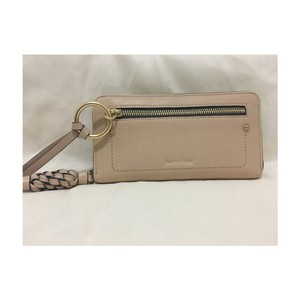 See by Chloé Zip-around Leather Wallet w/ Braided Tassel