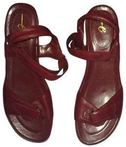 Easy Spirit Red Sandals