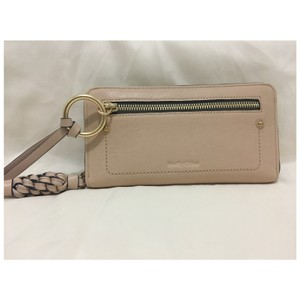 See by Chloé Zip-around Leather W/ Braided Tassel Wallet