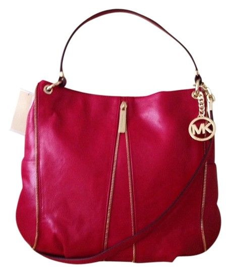 Preload https://item1.tradesy.com/images/michael-kors-newman-tote-handbag-scarlete-red-leather-shoulder-bag-2304255-0-0.jpg?width=440&height=440