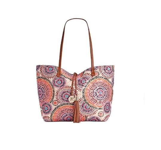 INC International Concepts Color Large Kyli Tote in multi Image 1