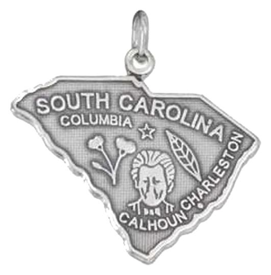 Preload https://img-static.tradesy.com/item/2304327/silver-sterling-antiqued-south-carolina-state-charm-0-0-540-540.jpg